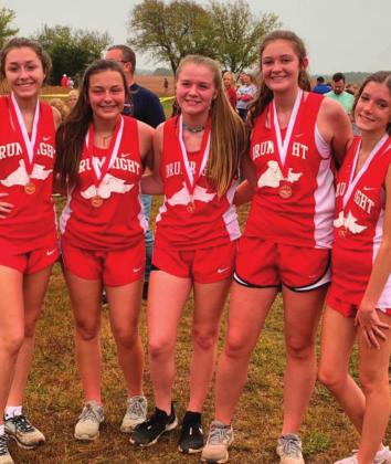 Drumright Lady Tornadoes Cross Country