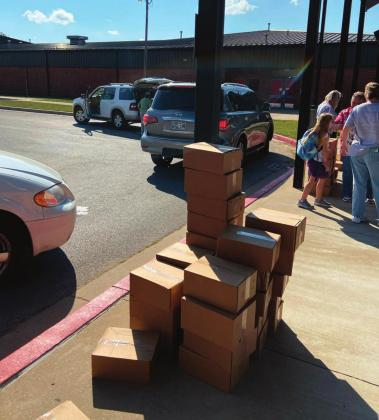 Drumright Schools provides 3,000 meals for area youth